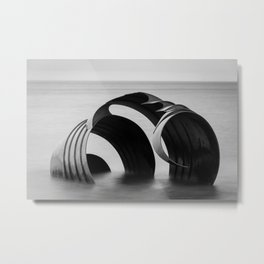 Mary' Shell Metal Print