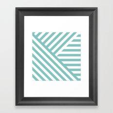 Tiffany Geometric Framed Art Print