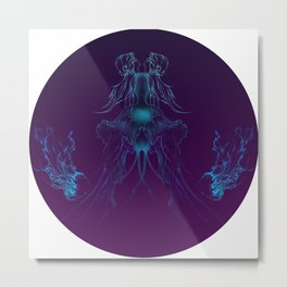 Purple Dreams Metal Print