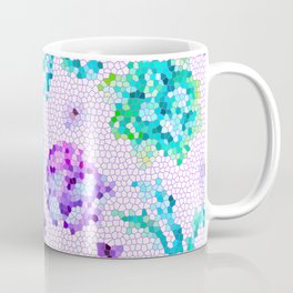 Stained Glass Watercolor Coffee Mug