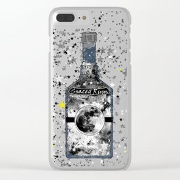 Spaced Rum Clear iPhone Case