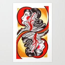 Sanguis Regina Art Print