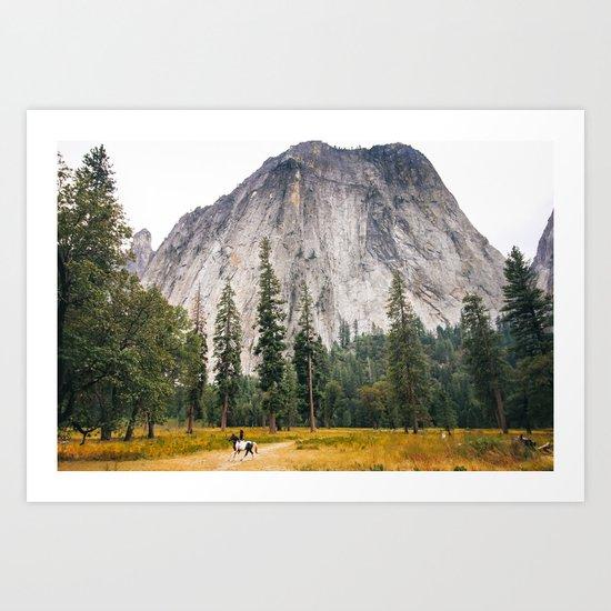 Man versus Nature Art Print