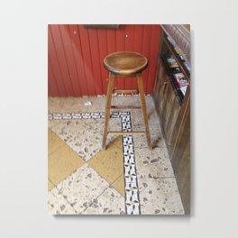 stool Metal Print