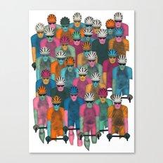 Pack (Peloton) Canvas Print
