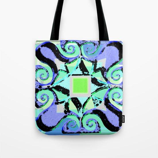 Sharon's Garden Tiles Tote Bag