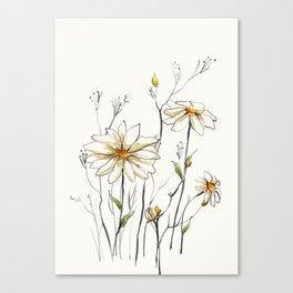 Flowers 4 Canvas Print