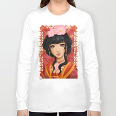 Chinese thought - Pensée chinoise Long Sleeve T-shirt