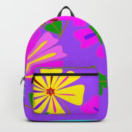 A Spring Floral Design with a Dragonfly Backpack