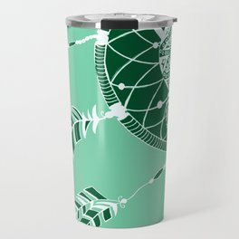 Mint Dreamcatcher Travel Mug