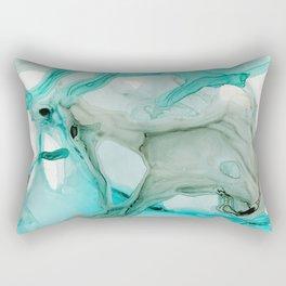 Aqua Life Rectangular Pillow