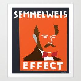 Lets talk about Semmelwies Art Print