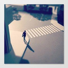 Crosswalk Mini Canvas Print
