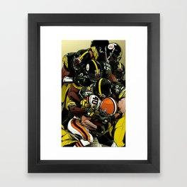 Stellers Defence Framed Art Print