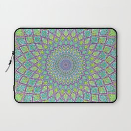 Purple Spirograph Mandala 0118 Laptop Sleeve