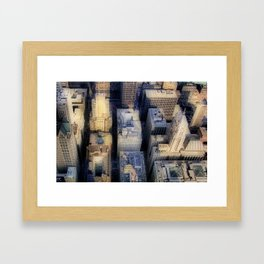 Downtown Chicago Framed Art Print