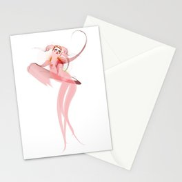 Les Etats d'Angela Stationery Cards