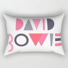 Memphis Bowie Rectangular Pillow