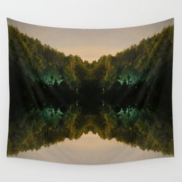 Perfect Reflection Wall Tapestry