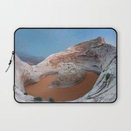 Rock mountain lake Laptop Sleeve