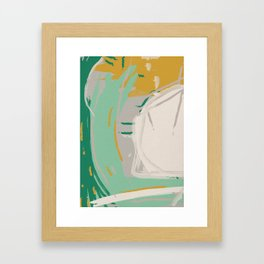 Messy Mustard Framed Art Print