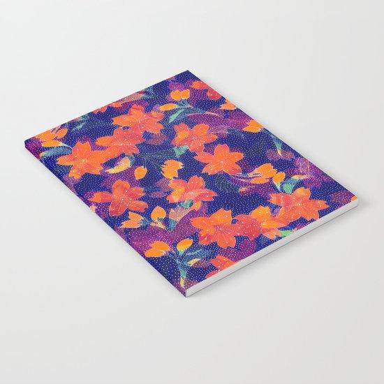 Japanese Garden: Blossoms Dk Notebook