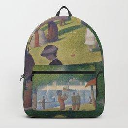 A Sunday on La Grande Jatte - Georges Seurat Backpack