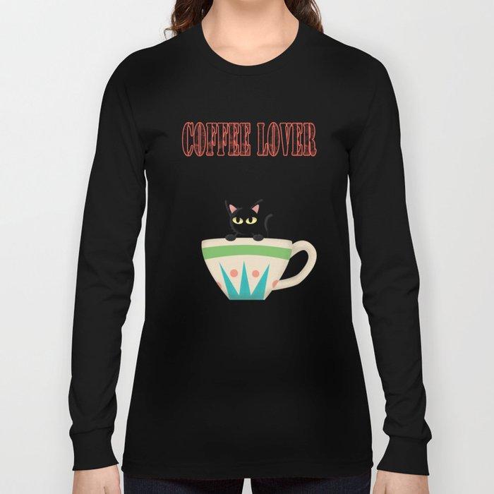COFFEE LOVER Long Sleeve T-shirt