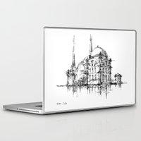 islam Laptop & iPad Skins featuring Dolmabahce Mosque by Nikoloz Lekveishvili