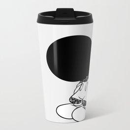 Hidden Face Metal Travel Mug