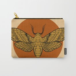 Vintage Death Head Moth Carry-All Pouch
