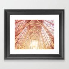 Saint Chapelle Paris Framed Art Print