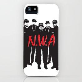 NWA iPhone Case