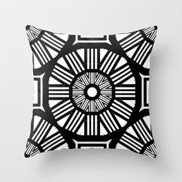 Spiked Mandala  Throw Pillow