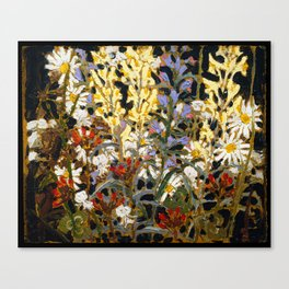 Tom Thomson - Wild Flowers - Canada, Canadian Oil Painting - Group of Seven Canvas Print