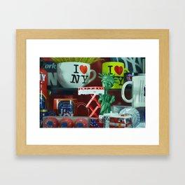 Times Square Toys Framed Art Print