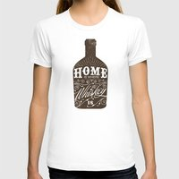 whiskey T-shirts featuring Whiskey by irosebot