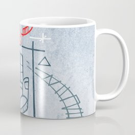 Religious christian symbols and phrase Coffee Mug