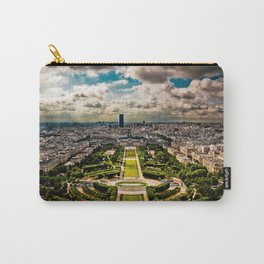 Paris from the Eiffel Tower Carry-All Pouch