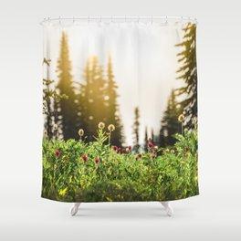 Mountain Meadow Flowers - 13/365 Shower Curtain