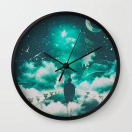 LIGHT OF HOPE #3 Wall Clock
