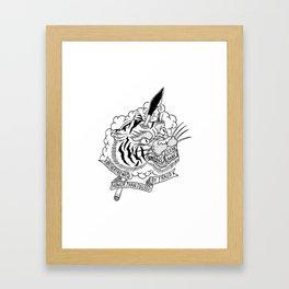 Another Tiger. Framed Art Print