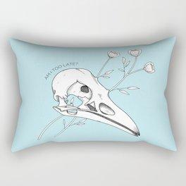 Am I too late? Rectangular Pillow