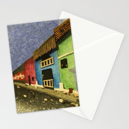 Nicaraguan Streets Stationery Cards