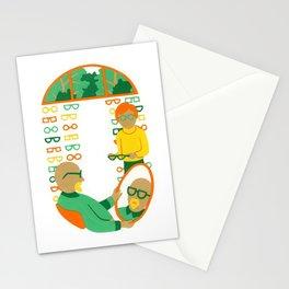 O as Optician Stationery Cards