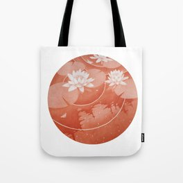 STEREOSCOPIC LILYPOND RIGHT Tote Bag