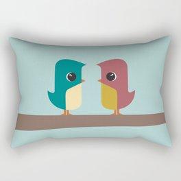 Tweet Heart Rectangular Pillow