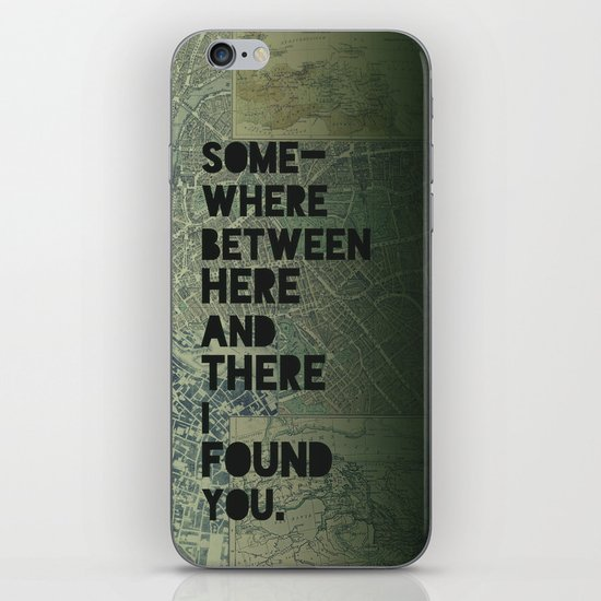 Here & There III iPhone & iPod Skin