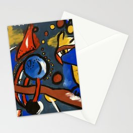 Owls in Space Stationery Cards