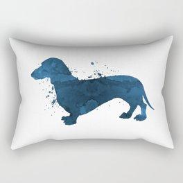 Dachshund Rectangular Pillow